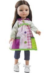 Puppe 32 cm Carol Lehrerin für Kinder Hobbie Freundinnen Paola Reina 4653