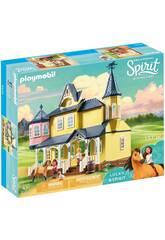 Playmobil Spirit Casa de Lucky 9475