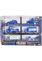 Polizeifahrzeuge Komplette Flotte