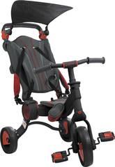Tricycle Galileo Noir et Rouge Toimsa 50516