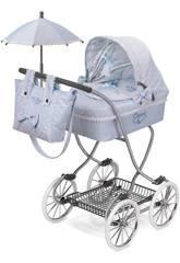 Puppenwagen Mit Sonnenschirm Carol De Cuevas 80222