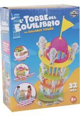 La Torre del Equilibrio con 32 piezas