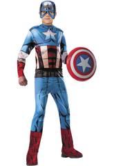 Disfraz Niño Capitán América Classic Talla M Rubies 620019-M