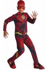 Déguisement Enfant Flash Ligue De la justice Taille M Rubies 630861-M