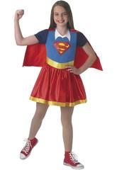 Déguisement enfant fille Super-girl Classic Taille M Rubies 630021-M