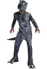Costume Bimbo Velociraptor Blue Classic M Rubies 641180-M