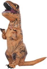 Kinderkostüm aufblasbarer T-Rex Einheitsgröße Rubies 610821