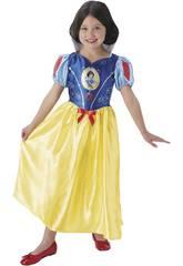 Déguisement Enfant fille Blanche-neiges Classic Taille M Rubies 620642-M