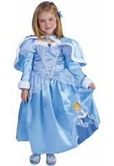 Déguisement Enfant fille Cendrillon Winter Taille M Rubies 887090-M