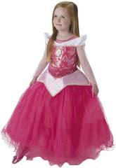 Kostüm für Mädchen Aurora Premium Größe S Rubies 620481-S