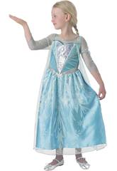 Disfraz Niña Elsa Premium Talla M Rubies 610869-M