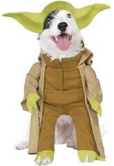 Kostüm Haustier Star Wars Yoda Deluxe Größe L Rubies 887893-L