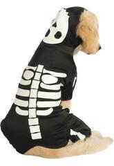 Costume per Animali Scheletro Brilla nell'Oscurità S Rubies 887825-S