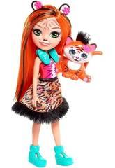 Enchantimals Bambola Tanzie la Tigre Multicolore Mattel FRH39