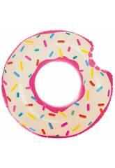 Ciambella Materassino Gonfiabile Donut da 107 cm Intex 56265