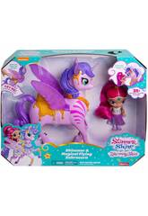 Shimmer and Shine Shimmer and Magical Flying Zahracorn Mattel GCM03