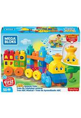 Train Musical Mega Bloks ABC Mattel FWK22