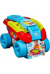Carrinho Mega Bloks Encaixa blocos Mattel FVJ47