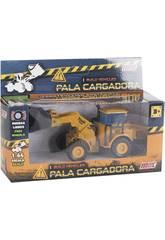 Vehículo Construcción Die Cast 1:64 14 cm. Pala Cargadora