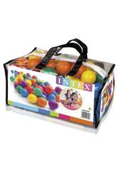 Pack 100 Balles Multicolore de 6.5 cm. Intex 49602