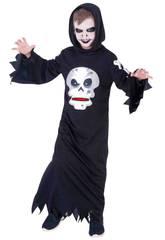 Costume Bimbo Skull Affamato M Rubies S8385-M