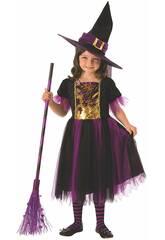 Deguisement enfant Sorciere magique Taille S 641101-S