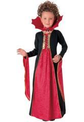 Déguisement Fille Vampire Gothique Rouge Taille M Rubies 881029-M