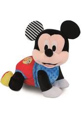Plüschtier Baby Mickey Kriecht Clementoni 55256