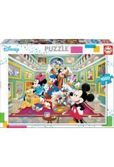 Puzzle 100 Galleria d'Arte di Mickey Educa 17695