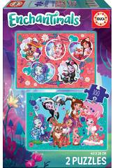 Puzzle 2x100 Enchantimals Educa 17934