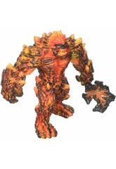 Eldrador Creatures Gólem von Lava mit Waffe Schleich 42447