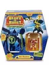Ready 2 Robot Bot Blaster Capsula con Mini Robot e Armi Speciali Giochi Preziosi RED02000