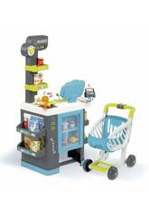 City Market Supermercato con Carrello Smoby 350218