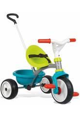Triciclo Be Move Azul Rueda Silenciosa Smoby 740326