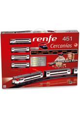 Treno Elettrico Renfe Cercanías 451 Pequetren 685