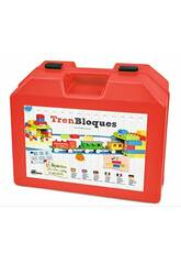 Kinder-Elektrozug mit Bausteinen Pequetren 2002