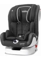 Seggiolino Auto Gruppo 0-1-2-3 Comfort Fix Grigio Asalvo 15082