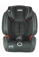 Seggiolino Auto Gruppo 0-1-2-3 Sport Fix Grigio Asalvo 15068