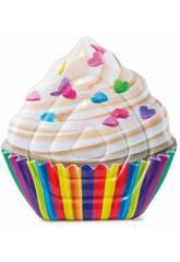 Colchoneta Cupcake 142x135 cm. Intex 58770