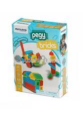 Juego Pegy Bricks 36 Piezas Miniland 94042