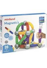 Jeu Magnetics 36 Pièces Miniland 94105