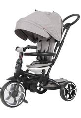 Tricycle Prime 5 en 1 Gris QPlay T551