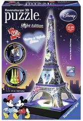Puzzle 3D Tour Eiffel Mickey et Minnie avec Lumière Ravensburger 12520