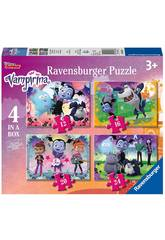 Vampirina Puzzle Progresivo 4 en 1 Ravensburger 6973