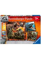 Jurassic World Puzze 3 in 1 Ravensburger 8054