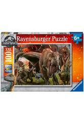 Jurassic World Puzzle XXL 100 Peças Ravensburger 10915