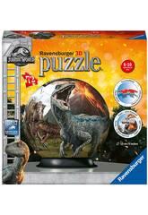 Jurassic World Puzzleball 3D 72 Peças Ravensburger 11757