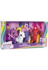 Familia 6 Unicornios colores