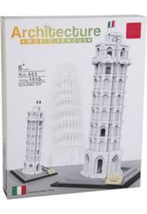 Blocchi Costruzione Torre di Pisa 1519 Pezzi