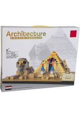 Bloques de Construcción Pirámide y Efinge 1187 Piezas